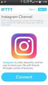 Сервис IFTTT