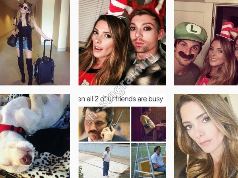 Новые фото из Instagram Эшли Грин