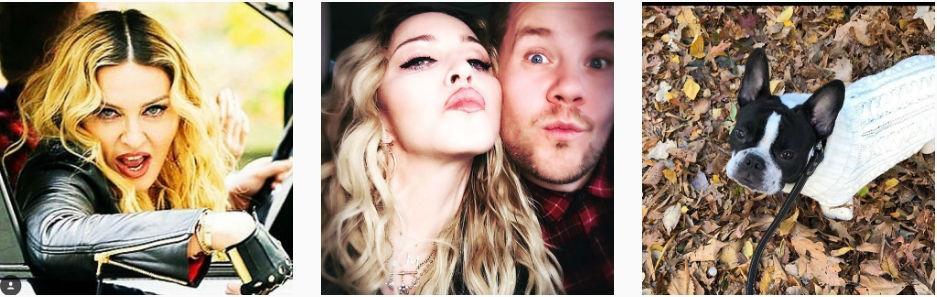 Фото из Инстаграма Мадонны