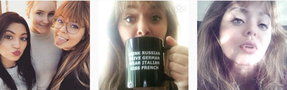 Саша Питерс новые фото в Инстаграм